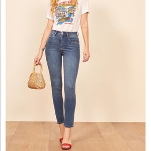 Reformation High Rise Skinny Jean